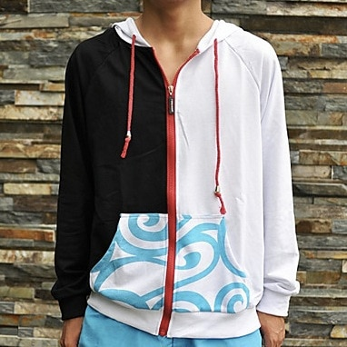 Gintama Gintoki Sakata Cosplay Sudadera con capucha