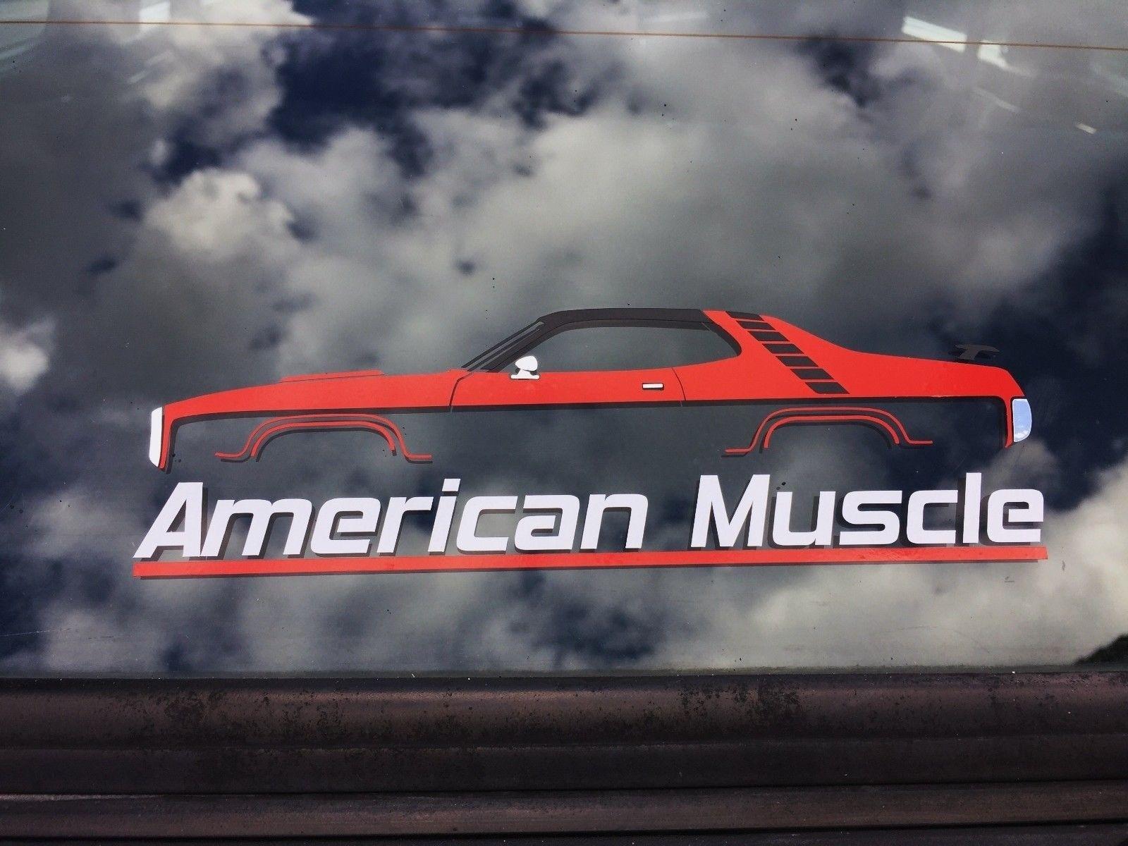 Adesivos de carro Músculo Americano janela silhueta adesivo para 1971 Plymouth Road runner adesivo 20 cm