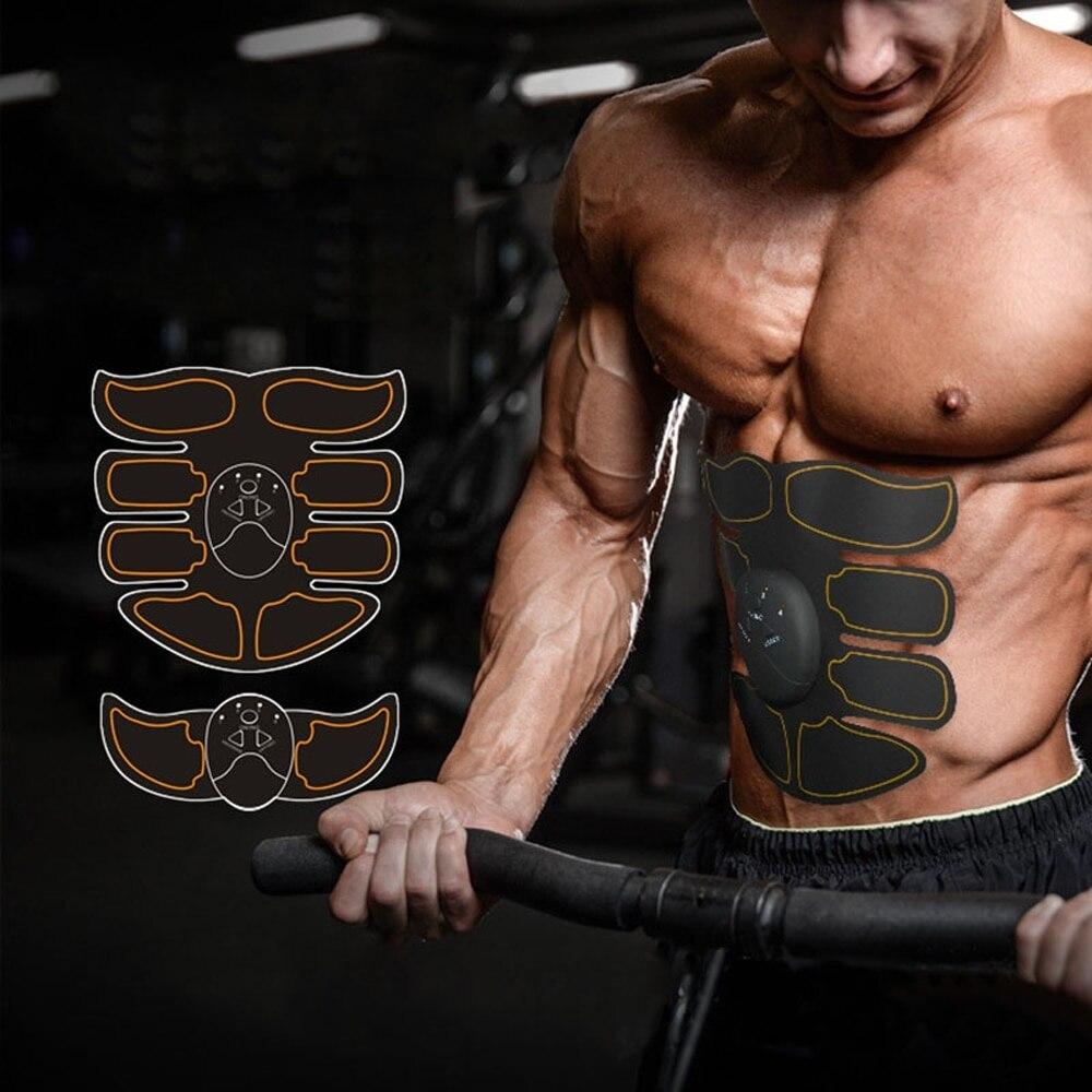 Entrenador de músculos del brazo Abdominal moldeador de forma de glúteos estimulador de masaje más apretado entrenamiento muscular eléctrico adelgazamiento Abdominal