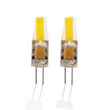 Mini ampoule COB G4 Led DC AC 12V lampe lustre lumières spot éclairage domestique remplacer halogène 3W 6W haute qualité blanc chaud JQ