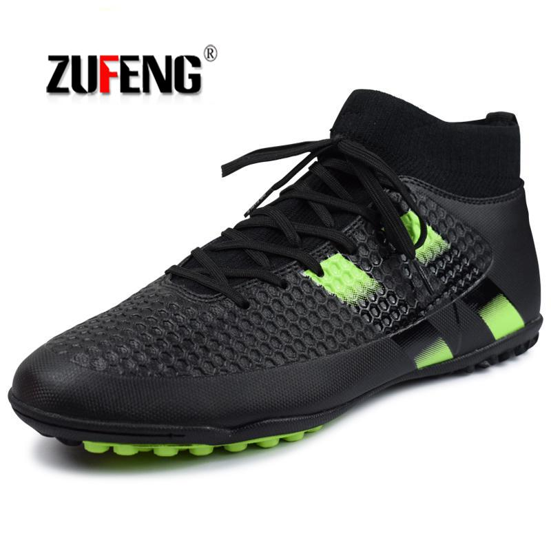 fires men s turf soccer shoes indoor plus size 45 cleats kids original superfly futsal football shoes sneakers chaussure de foot Men's Futzalki Football Shoes Sneakers Indoor Turf Superfly Futsal 2018 Original Football Boots Ankle High Soccer Boots Cleats
