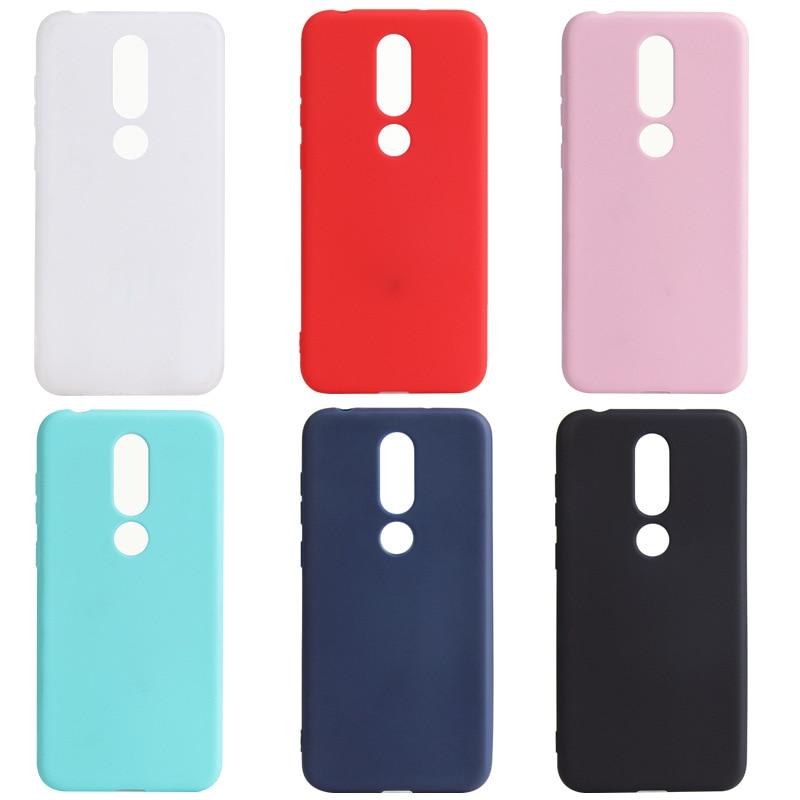Funda Ricestate para Nokia 5, funda Nokia 1 2 3 5 6 8 2,1 3,1. 51 6,1 Plus X3 X5 X6, funda mate de silicona blanda