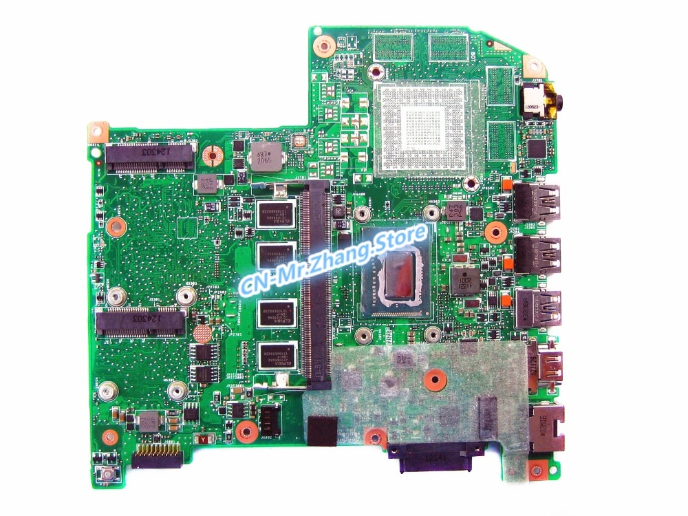 SHELI para la placa base del ordenador portátil Acer Aspire M5-582PT con CPU i3-3227U NB. M3J11.004 JM50 Tablero Principal DDR3