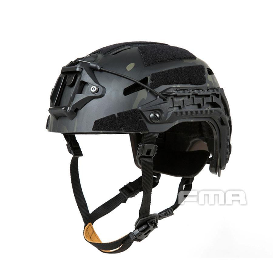 Casco táctico para deportes al aire libre, Airsoft Caiman, casco balístico MCBK, casco de escalada
