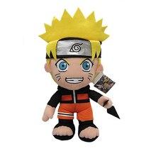 30 cm Anime Naruto Uzumaki Naruto peluche poupée jouet Uzumaki Naruto Cosplay Costume en peluche doux jouets en peluche cadeau pour enfants enfants