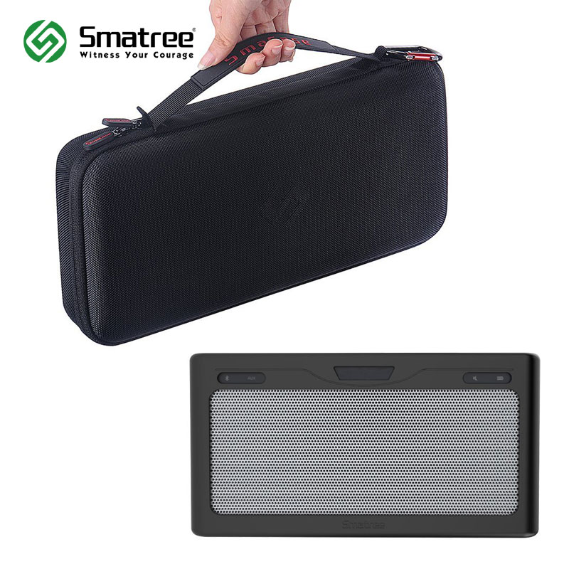 Smatree SmaCase B260 estuche rígido con cubierta suave negra/gris para Bose SoundLink Altavoz Bluetooth III