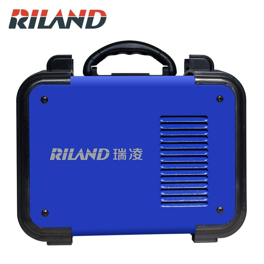 RILAND ARC 200GE DC inversor ARC soldador 220V IGBT MMA ARC máquina de soldadura para principiantes en el hogar