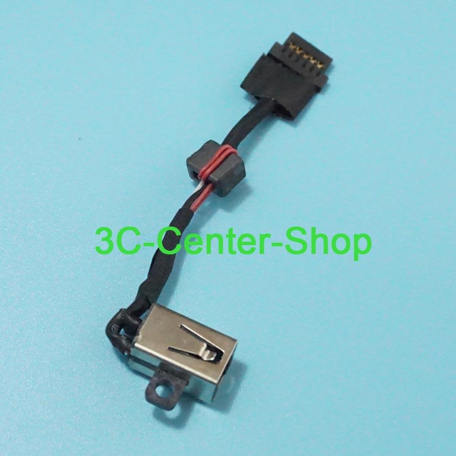 1 PCS DC Jack Connector For DELL XPS 13 9343 9350 9360 0P7G3 00P7G3 dc jack DC Power Jack Socket Plug Cable