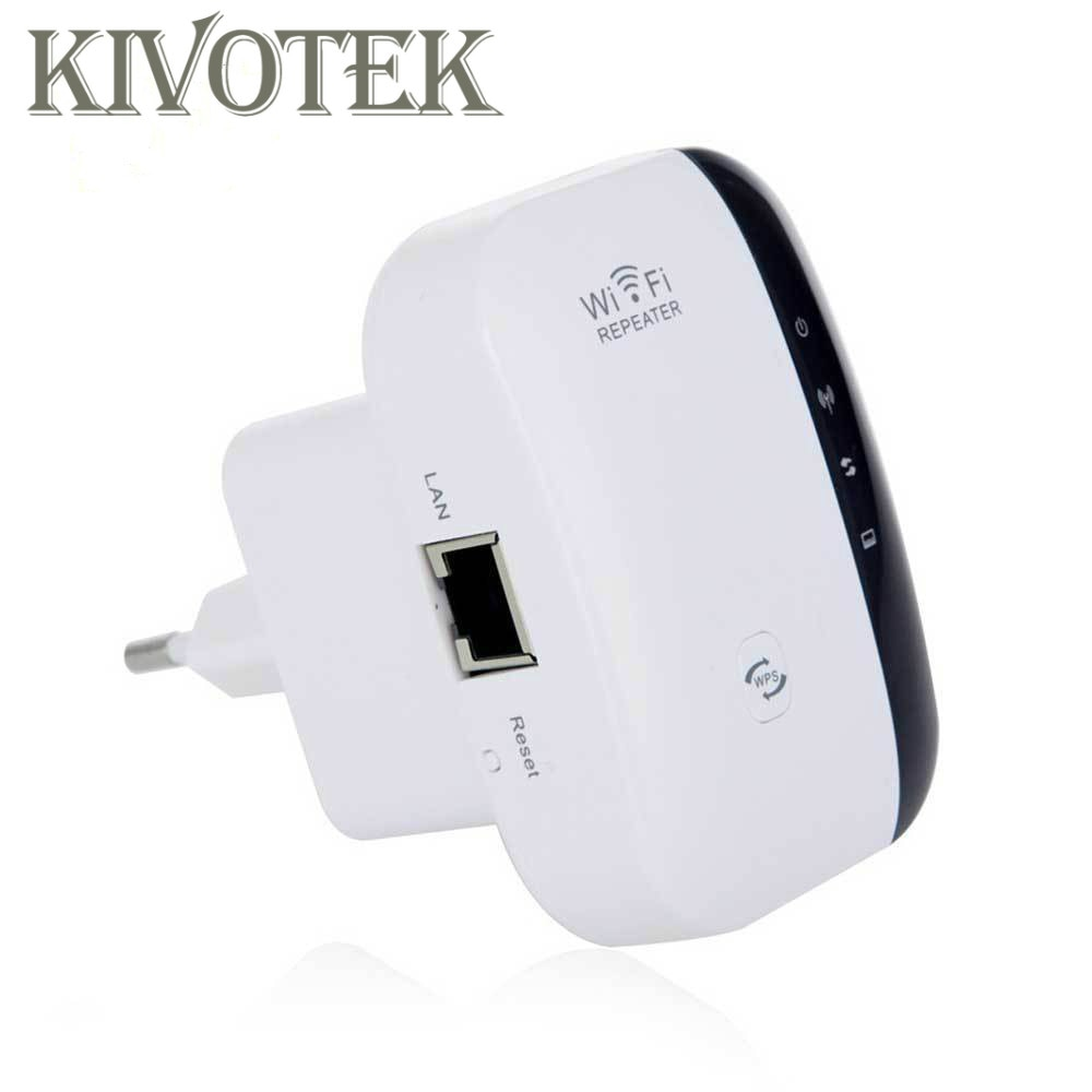 Repetidor WiFi inalámbrico amplificador de señal 802.11N/B/G extensor de rango Wi-fi 300Mbps Boosters Repetidor Wps cifrado envío gratis