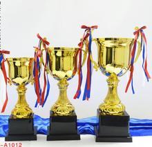 Trophée en métal en alliage de zinc   Trophée personnalisé de danse de rue, compétition invitation, petits grands spo, vente directe en usine en gros