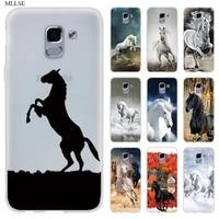 frederik great beauty horse case for samsung j8 j4 j6 plus 2018 j5 j3 j7 2017 eu 2016 prime silicone phone coque cover fundas