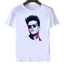 bruno mars Tshirt men tops 2019 Fashion casual summer white t shirts DJ Male Famale Tees short sleeve women streetwear