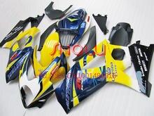 Mavi/Sarı Corona Fairing SUZUKI GSXR1000 07 08 için GSX-R1000 07-08 GSX R1000 2007 2008 GSXR 1000 K7 07 08 2007 2008