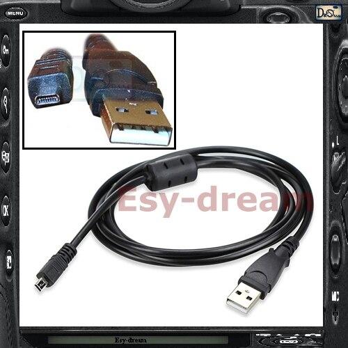 Cámara USB Cable de datos Cable para Nikon Coolpix S2600 S2500 S3000...