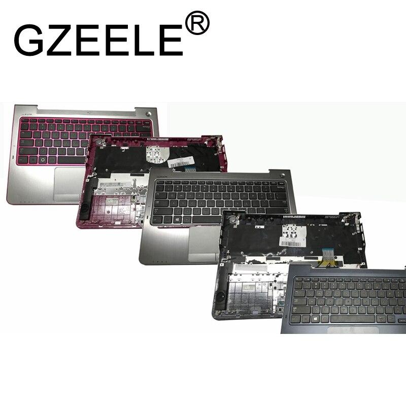 GZEELE nouveau boîtier supérieur palmrest pour Samsung 530U3B 530U3C 535U3C NP530U3B NP530U3C NP535U3C 540U3C 532U3C pavé tactile de lunette de clavier