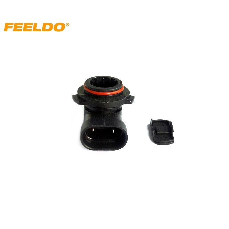 2 uds coche 9012/H1R2 LED Bombilla Socket freno señal de giro arnés de luz cable conector de clavija # CA1044