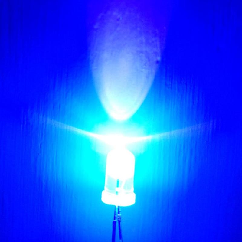 Lámpara ultravioleta de LED NEGRO, 100 Uds., bombillas de luz UV, Chip LED, luces ultravioleta para escanear Printercklight