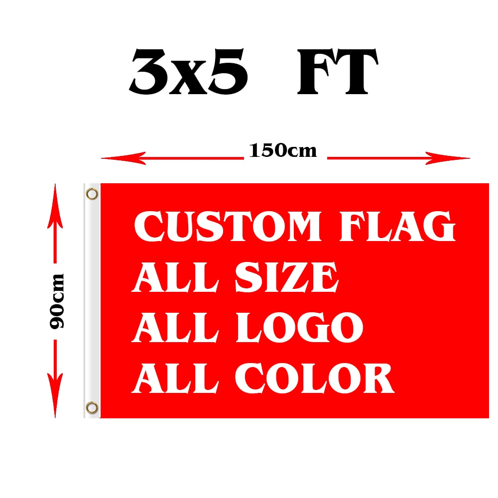 130x190cm custom flag any logo any word any style any size for adverting,festival,activity hobby music custom flag
