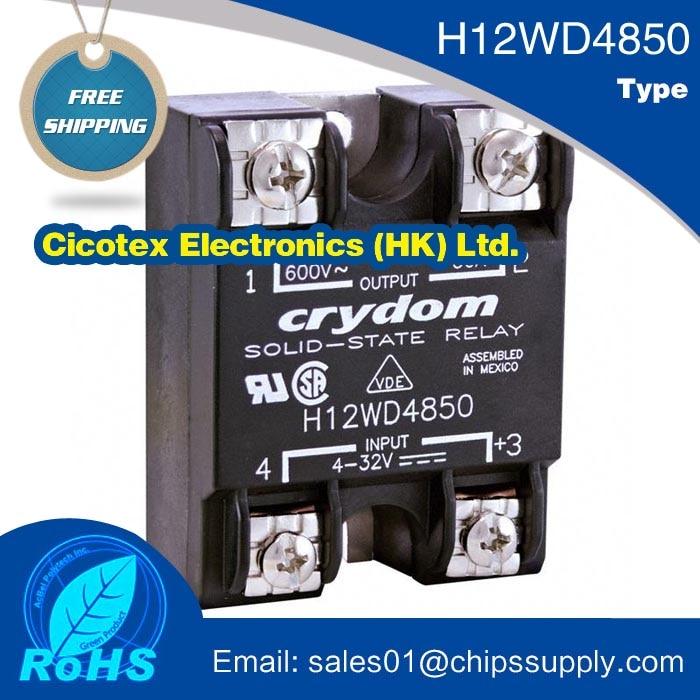RELAYS relés SSR 50A 660VAC módulo DC IGBT relé de estado sólido WD4850