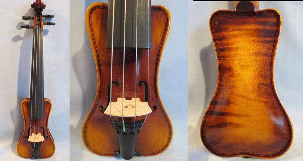 "Estilo barroco violino MÚSICA Marca Pochette 5 3/4 "", ressonante som #12805"
