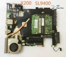 63Y1106 Pour X200 SL9400 Ordinateur Portable Carte Mère Caremel-1 07251-3 48.4Y403.031 Carte Mère 100% testé entièrement travail