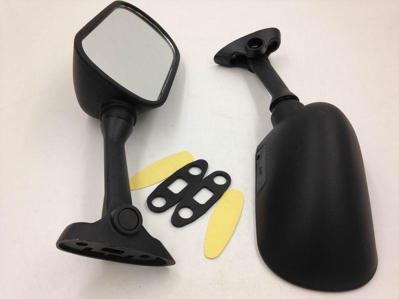 Retrovisor para motocicleta espejos retrovisores laterales para Suzuki GSX-R GSXR 600/750/1000/2001-2012 SV650 2003-2008 SV1000 2003-2007