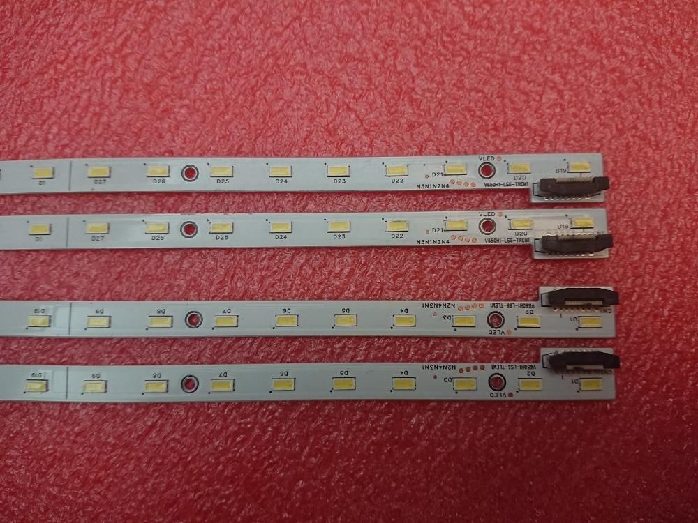 4 peças/lote 36LED 402 milímetros LED strip para L65F3500A V650H1-LS6-TREM1 V650H1-LS6-TLEM1 V650HP1-LS6