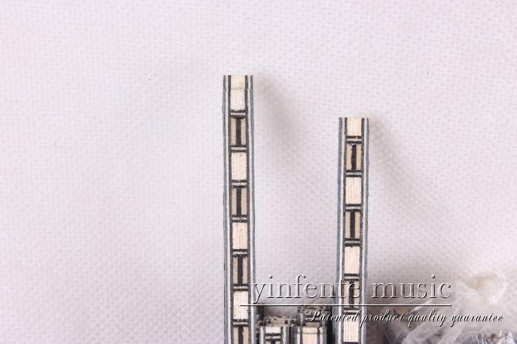 50 лент Luther PURFLING BINDING MARQUETRY INLAY Top side 640x3x1 мм #62