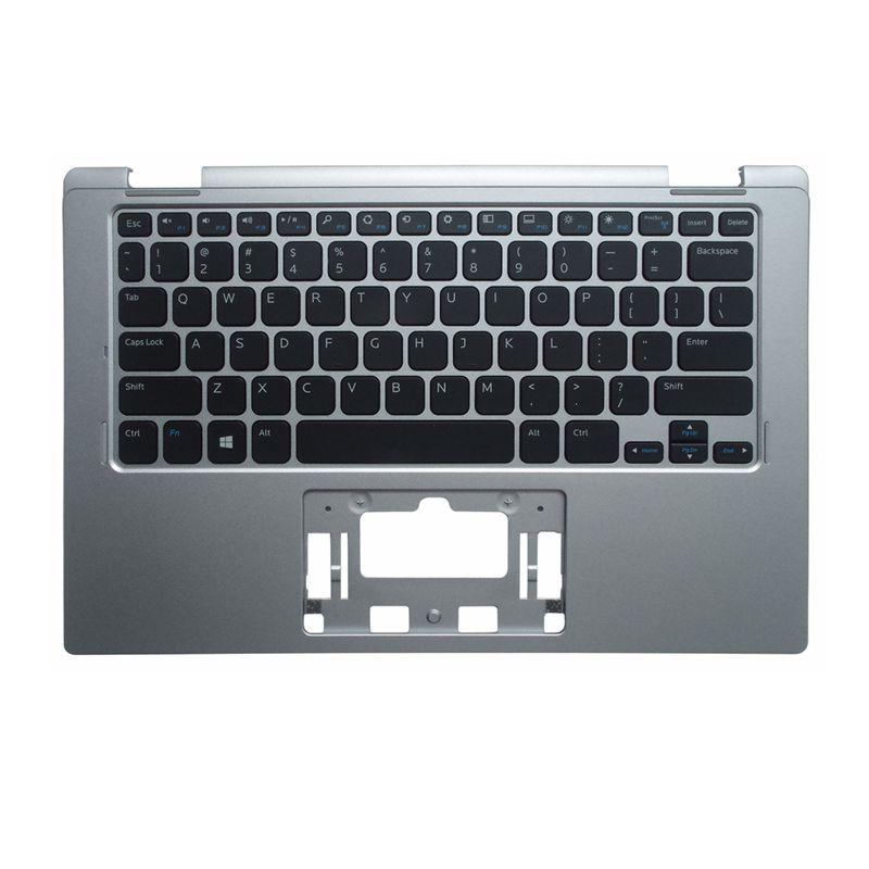 YALUZU جديد Palmrest غطاء لديل انسبايرون 11 3000 سلسلة 3152 3153 حافظة علوية لوحة المفاتيح لون فضي نسخة الولايات المتحدة