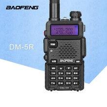 Baofeng DM-5R Portable Radio VHF UHF Dual Band DMR Digital Anolog Dual Mode 5W 128CH Walkie Taklie Flashlight DM5R Transceiver