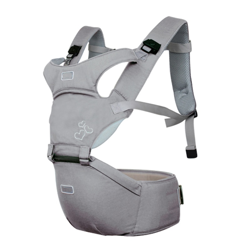 Hipseat para recién nacido y previene piernas tipo o estilo cargando oso 20Kg portabebés ergonómico chico sling