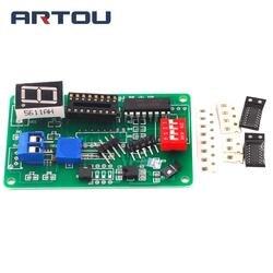 Circuito Temporizador Digital Kit 74LS192 Eletrônica Kit com Kit de Treinamento de Simulação DIY