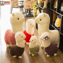 Poupée de mouton en peluche et animaux en peluche jouet animaux en peluche doux bébé enfants jouets pour filles enfants garçons cadeau danniversaire Kawaii jouets