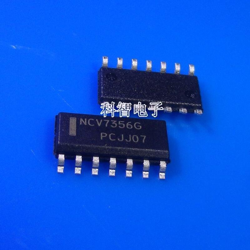 Nuevo original NCV7356D NCV7356D2R2G V7356 SOP-14 10 piezas