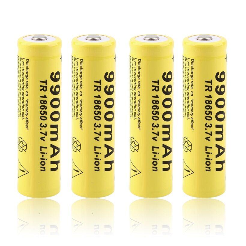 3,7 V 9900mah 18650 batería GTF 18650 batería li-ion 9900mAh 3,7 V batería recargable
