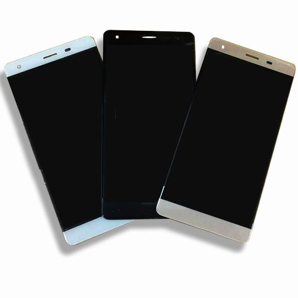Pantalla LCD de 5 pulgadas y pantalla táctil montaje completo para VERTEX Impress XL digitalizador panel lente Pantalla de cristal