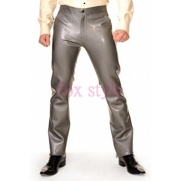 Резиновые латексные брюки, латексная официальная одежда