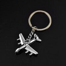 Mode femmes hommes créatif 3D Simulation modèle avion téléphone porte-clés porte-clés porte-clés porte-clés bijoux
