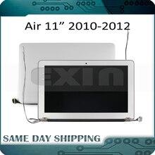 Original nouvel ensemble de écran affichage LED LCD complet pour Macbook Air 11