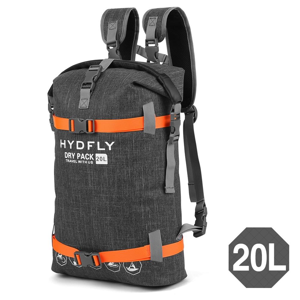 Impermeable bolsa seca Paquete de bolsas 10L/15L/20L bolsa de natación Rafting kayak río Trekking bolsa flotante de senderismo de vela