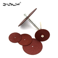 Saw Blade Grinding Wheel Cutting Disc For Dremel Rotary Tool Center Hole Diameter Circular Wood Metal Abrasive Sanding Tools