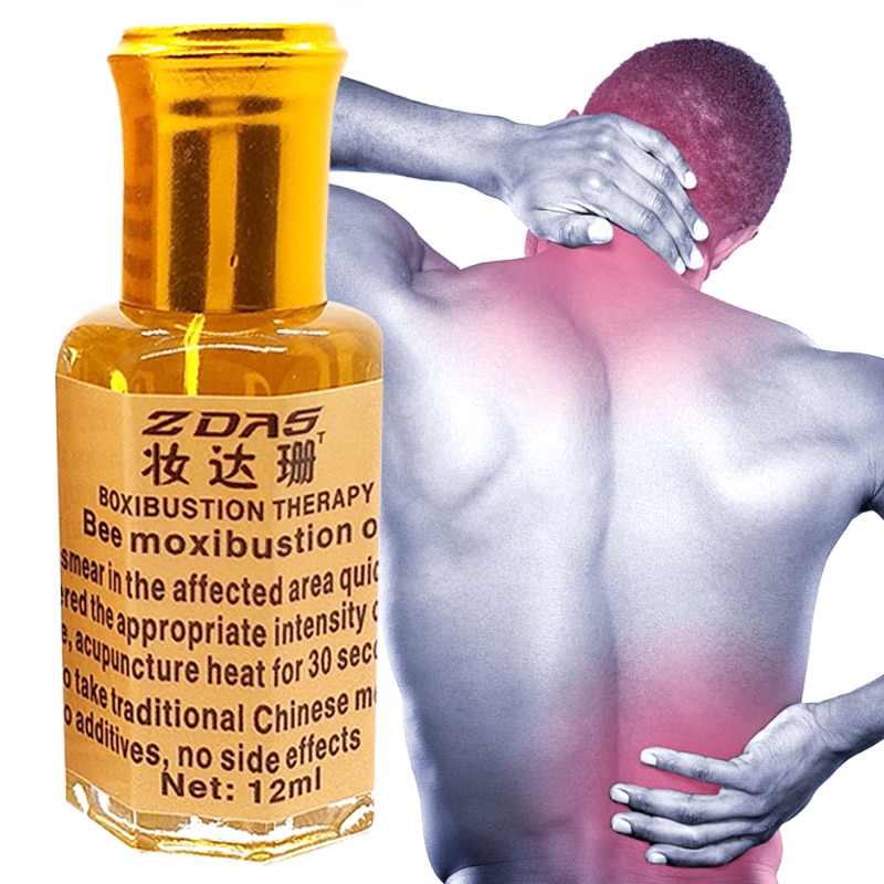 hans georg schaible pain in osteoarthritis Scrub Body Treatment Oil Rheumatic Leg Pain Frozen Shoulder Osteoarthritis Bone Cervical Spondylosis Pain Relief Bee moxibustion