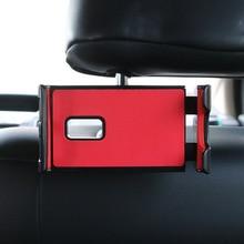 MEIDI-support de tablette pour téléphone   Support de voiture pour siège arrière iPad Ajustable, support de voiture pour appui-tête pour téléphone Mobile à Rotation de 360 degrés