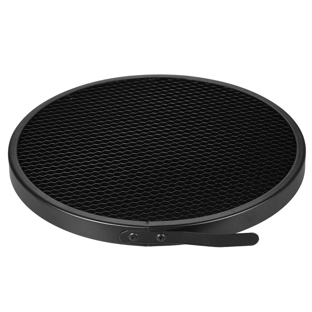 "16.8cm 40 Degree Photo Studio Honeycomb Grid for 7"" Standard Reflector Diffuser Lamp Shade Dish Photo Studio Accessories"
