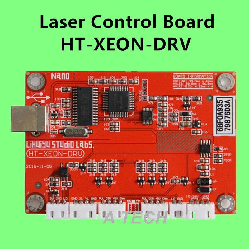 HT-XEON-DRV Co2 Laser Control System, controller for Laser cutting, Laser Control Board, CorelLASER, winsealxp