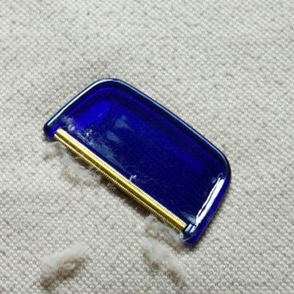 Аксессуары для бритья дома пиллинг Fuzz пластиковая кромка ткань расческа маленький триммер ручная медная полоска для удаления ворса инструменты для свитера