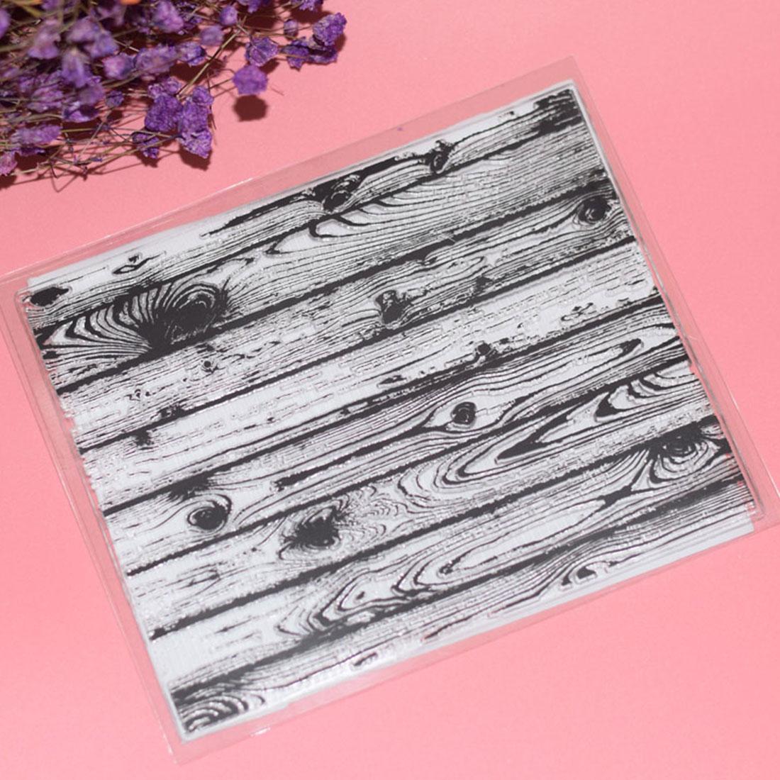Álbumes de fotos, decoración de suelo de madera, troqueles de sello de caucho transparente, sello artesanal DIY para decoración para álbum de recortes, fabricación de tarjetas