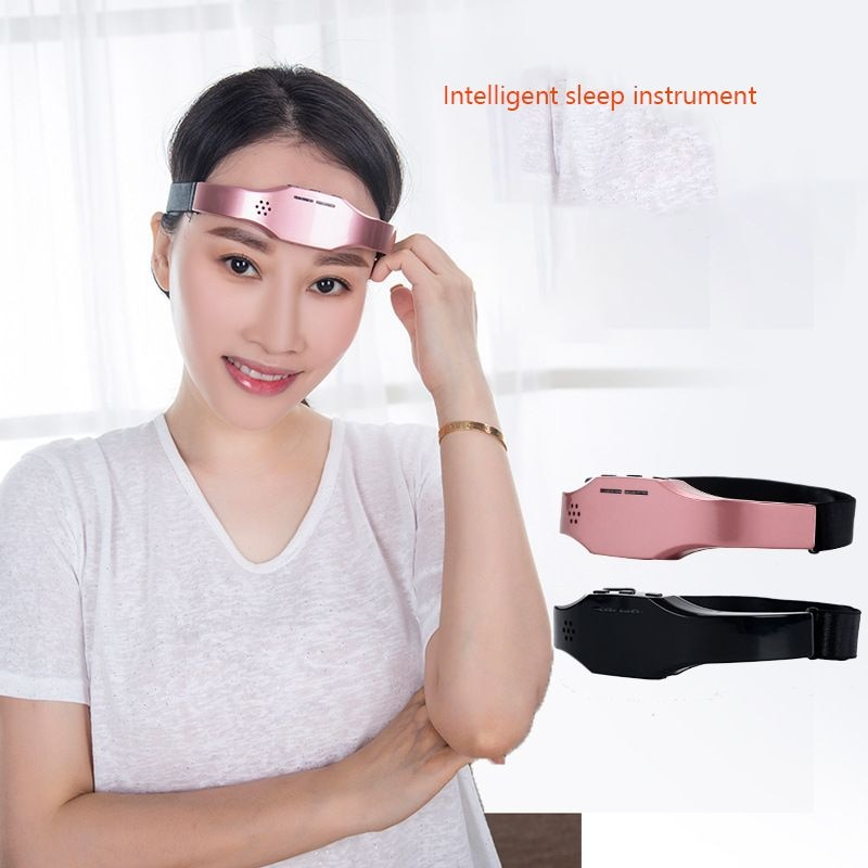 Insomnia Instrument Sleep Head Massage Mask Migraine Headache Relief Anxiety Depression Treatment Hypnotic Physical TNTS Therapy