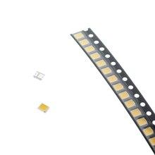 100 pièces puce LED SMD LED 2835 blanc blanc chaud puce 0.2W 3.0-3.2V 60mAh lumière-Diode émettrice LED rétro-éclairage Application TV