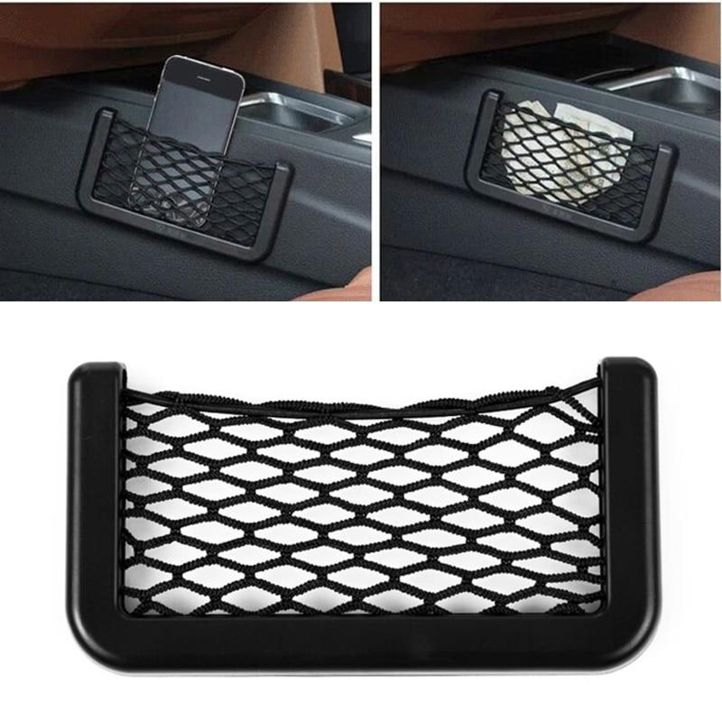 1x Car Seat Side Back Storage Phone Holder Pocket Bag For Volkswagen POLO Golf 5 6 7 Passat B5 B6 B7 Bora MK5 MK6 Tiguan